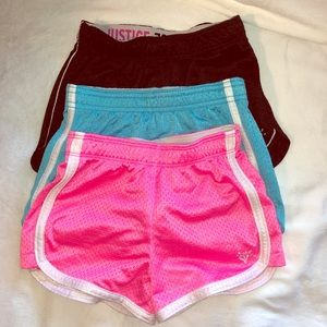 Justice lot of shorts sizes 5&6